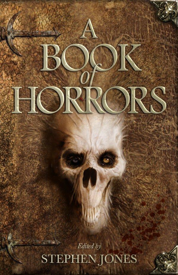Обложка к сборнику рассказов A Book of Horrors