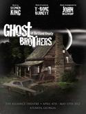 "Постер мьюзикла Стивена Кинга, Джона Мелленкэмпа и Ти Боун Бёрнэта ""The Ghost Brothers of Darkland County"""
