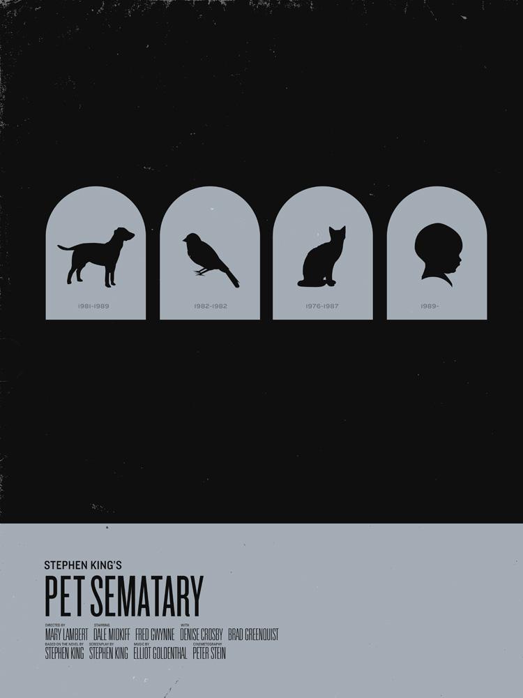 """Постер к фильму """"Кладбище домашних животных"""""""